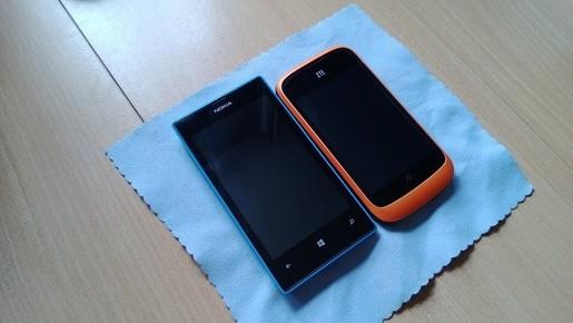 Lumia 520 với ZTE Open sử dụng FireFox OS