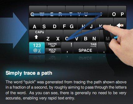 Bàn phím ảo trên iOS